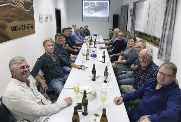 Mitglieder des BMW Stammtischs West-Thüringen | Bildquelle: © Matthias Doht (awe)
