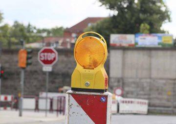 B 62 Dorndorf – Straßen und Brückenbau – Verkehrseinschränkungen