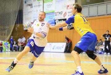 Seine Zweikampfstärke und Spielübersicht sind gefragt: Marcel Schliedermann   Bildquelle: © Frank Arnold • sportfotoseisenach / ThSV Eisenach
