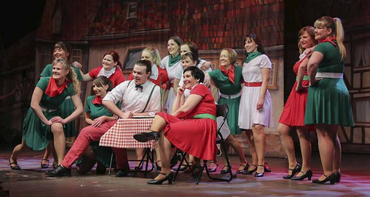 Das Wartburg-Ensemble zum Sommergewinns-Kommersch 2018