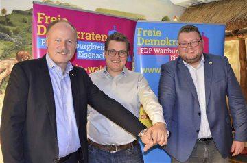 FDP-Kreisvorsitzender ist Thüringer Spitzenkandidat für Europa