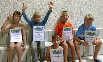 Eisenacher Rettungsschwimmnachwuchs beim Mini-Cup erfolgreich!