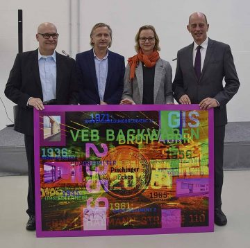 GIS eröffnet neues Gewerbezentrum in der Thälmann-Straße und feiert 25-jähriges Bestehen