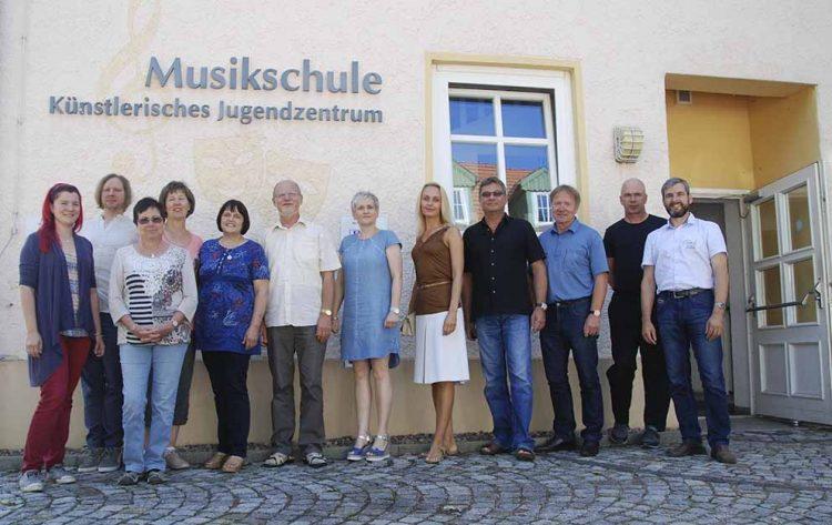 Die Lehrer der Musikschule Wartburgkreis freuen sich auf viele interessierte Gäste zum Tag der offenen Tür | Bildquelle: © Sandra Blume / Landratsamt Wartburgkreis