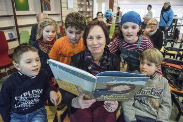 Kinderbuchlesung in Luthers Werkstatt