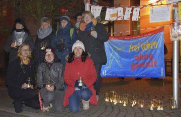 """Internationaler Aktionstag """"Nein zu Gewalt an Frauen"""""""