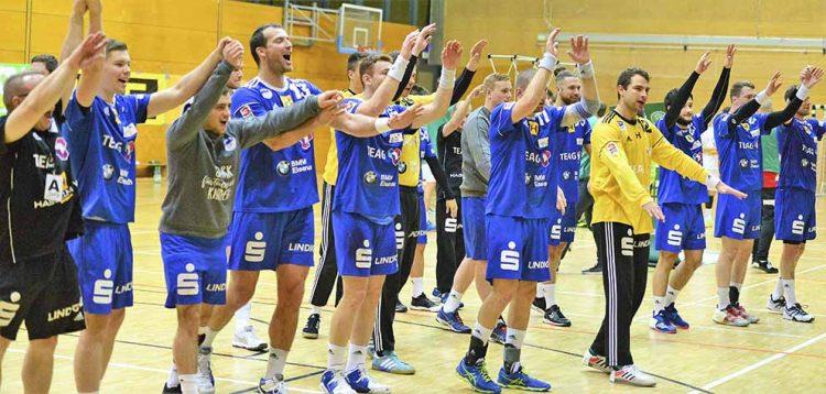 Der ThSV Eisenach will seinen erfolgreichen Kurs mit der Unterstützung seiner Fans zu den Heim- und Auswärtsspielen fortsetzen | Bildquelle: © Frank Arnold • sportfotoseisenach / ThSV Eisenach