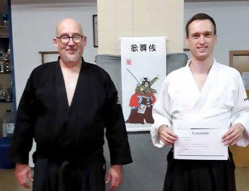 Aikido – letzte Kyu-Prüfung des Jahres