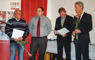 Eisenacher Rettungsschwimmer mehrfach geehrt