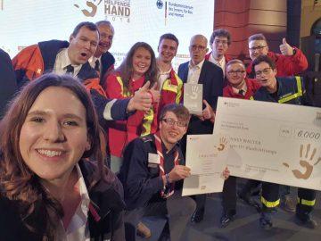 """H7 Blaulichtcamp belegt 2. Platz bei """"Helfender Hand"""""""