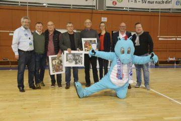 ThSV Eisenach ehrte drei Trainerlegenden und nahm sie in die Hall of Fame auf