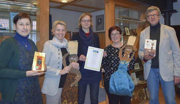 Roswita Weißschnur, Diana Artschwager, Katja Wolf, Christiane Leischner, Stephan Brinkel   Bildquelle: © Stadt Eisenach