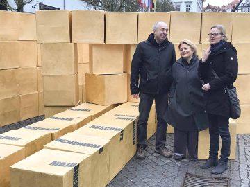 Holocaust-Gedenktag in Eisenach: Mahnwache vor dem Rathaus