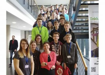Stadtlengsfelder Schüler zu Gast im Landtag