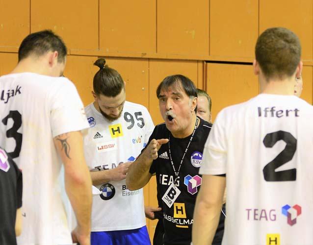Alle Hinweise von ThSV-Coach Sead Hasanefendic fruchteten nicht | Bildquelle: © Frank Arnold • sportfotoseisenach / ThSV Eisenach