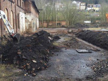 Gaswerk-Gelände: Zweiter Bauabschnitt zum Rückbau alter Teergruben beginnt