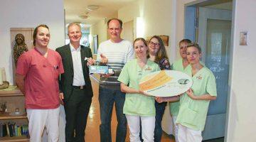 Spende des Lionsclubs Eisenach-Wartburg an das Hospiz
