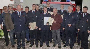 Guter Ausbildungsstand bei der Freiwilligen Feuerwehr Stregda