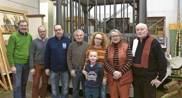 Bürger für Eisenach erinnern mit einem Wagen an den Zoologischen Garten Bismarckhütte