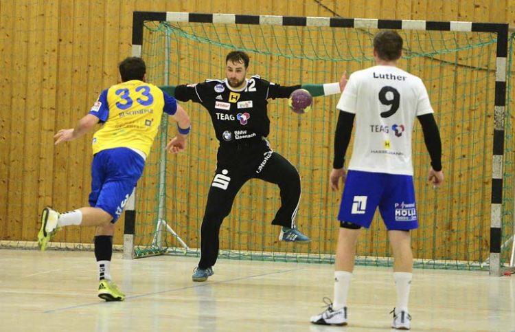 ThSV-Keeper Stanislaw Gorobtschuk Sieger im Siebenmeterduell | Bildquelle: © Frank Arnold • sportfotoseisenach / ThSV Eisenach
