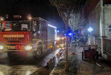 Feuerwehren löschten Wohnungsbrand