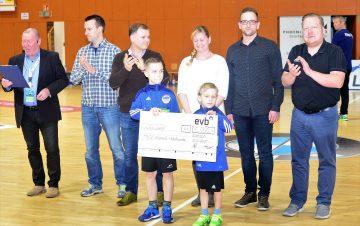 evb unterstützen ThSV-Nachwuchs mit 5.000 €