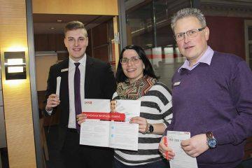 Wartburg-Sparkasse engagiert sich im Kampf gegen Blutkrebs