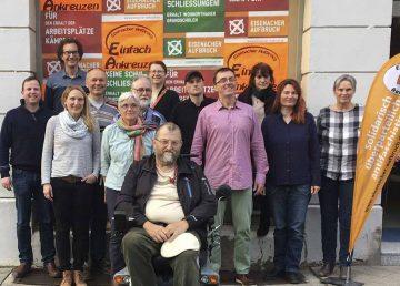 Kandidaten des Eisenacher Aufbruch für die Kommunalwahl 2019