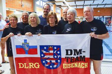 Eisenacher Rettungsschwimmer erfolgreich bei Deutscher Meisterschaft