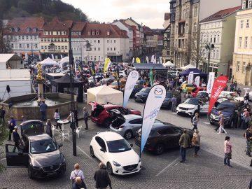 Großes Stadtfest auf drei Plätzen in Eisenach
