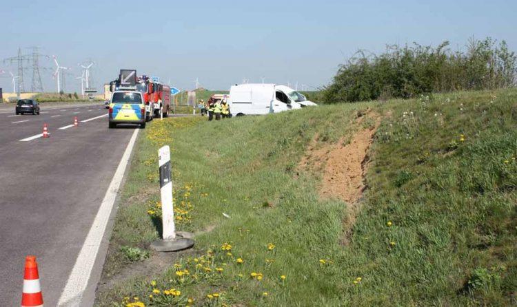 Unfallstelle | Bildquelle: Thüringer Polizei Autobahnpolizeiinspektion