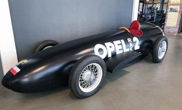 Opel Raketenauto im Automobilmuseum