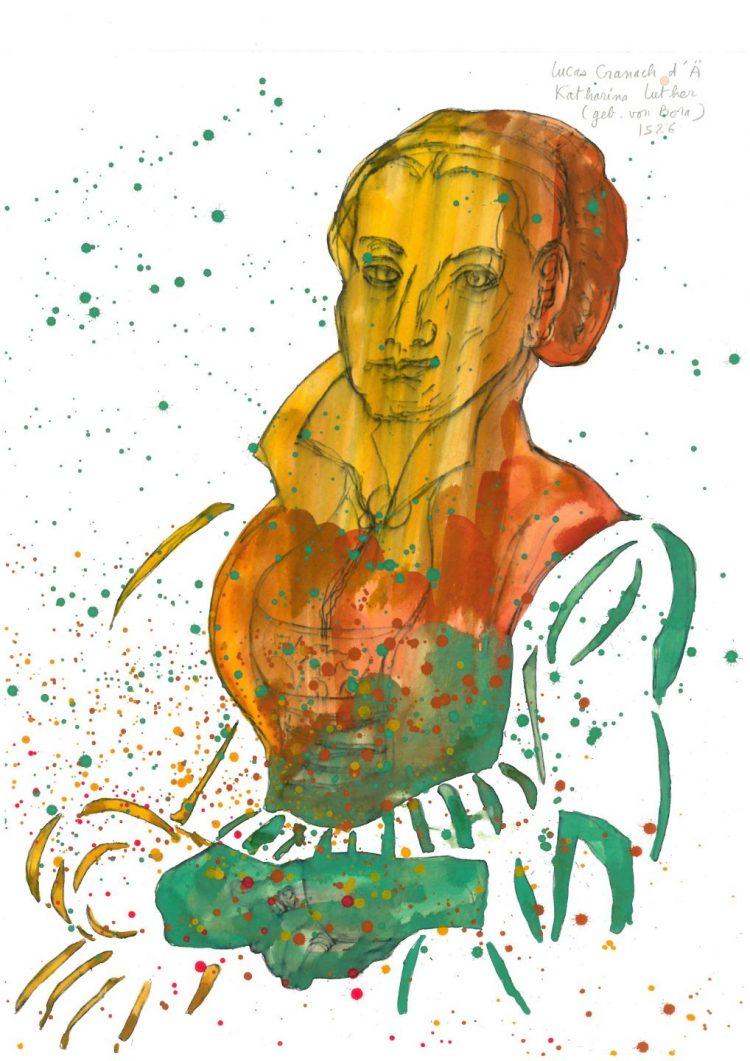 | Bildquelle: Thüringer Museum Eisenach – Werke von Colette Deblé