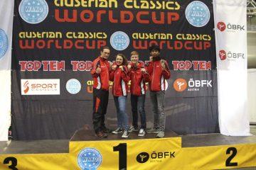 Kickbox-Worldcup in Innsbruck: Rizki Arifani erzielt Bronzemedaille bei Austrian Classics