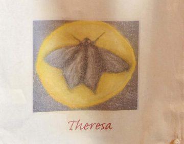 Eisenacher KinderKulturNacht: Theresa malte den schönsten Nachtfalter