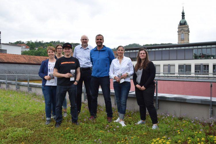 v.l. Christiane Sandner (KSB), Anja Schrader (FSV), Thomas Rieth (RSV 2002), Helmut Jung (RSV 2002), Ingo Böhme (SVW), Barbara Tüllmann (SVW), Lisa Schmidt (Projektteam Stadt Eisenach) | Bildquelle: Stadt Eisenach