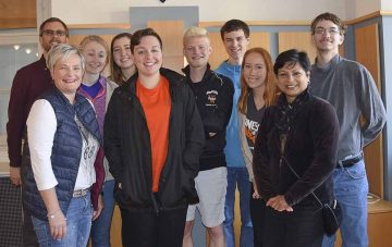 College-Studenten aus Waverly waren in Eisenach zu Gast