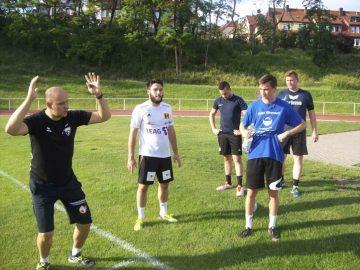 Trainingsstart beim ThSV Eisenach II