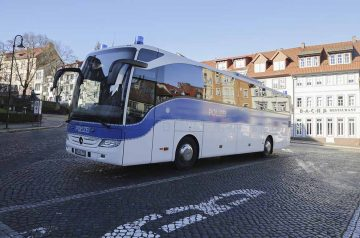 Busparkplatz Frauenplan wird gesperrt
