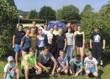 Trainings-Saisonabschluss der Eisenacher Rettungsschwimmer