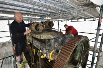 Restaurierung eines Eisenacher Industriedenkmals