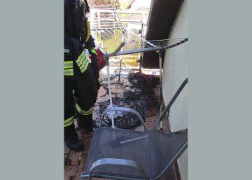 Eisenacher Berufsfeuerwehr löschte Wohnungsbrand
