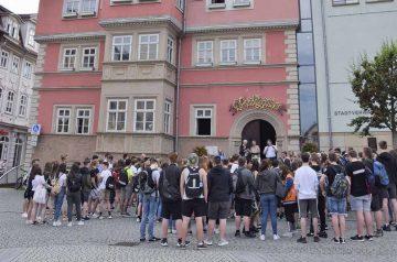 200 Eisenacher Schüler als freiwillige Helfer unterwegs