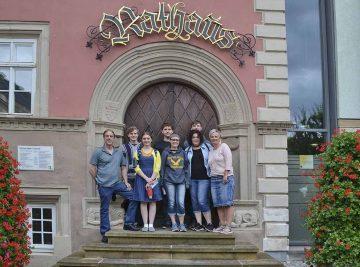 High School-Schüler aus Waverly besuchten Eisenach