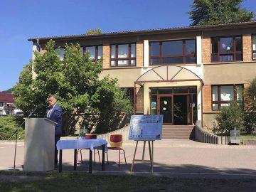 Die Grundschule in Kieselbach wird saniert und erweitert