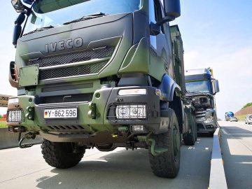 Bundeswehr stoppt führerlosen Lkw auf der A 4