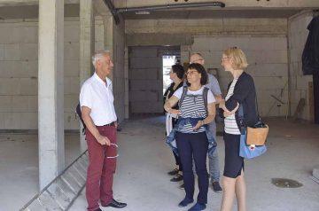 Gemeinschaftsschule: Bauarbeiten zum neuen Anbau kommen voran