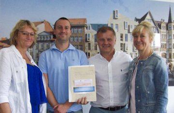 Architekturbüro Backofen & Seidenzahl mit Herz für Handballtalente