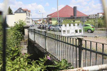 Kreuzung August-Bebel-Straße/Bleichrasen voll gesperrt