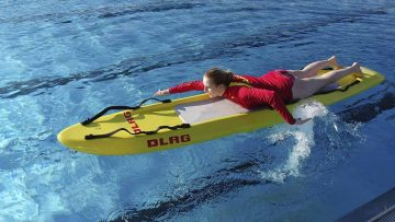 DLRG sorgt für Sicherheit im und am Wasser